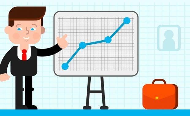 analytic chart graphic