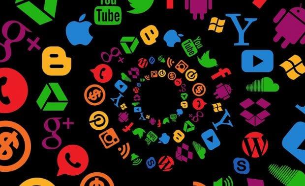 Social media spiral