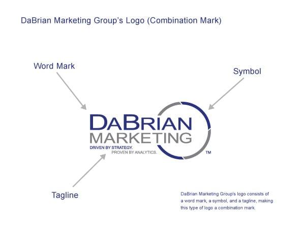 DaBrian Marketing logo example.