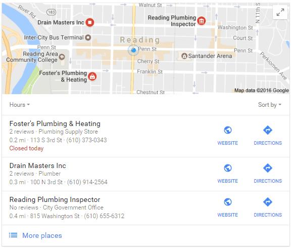 Plumbing Marketing in Reading, PA
