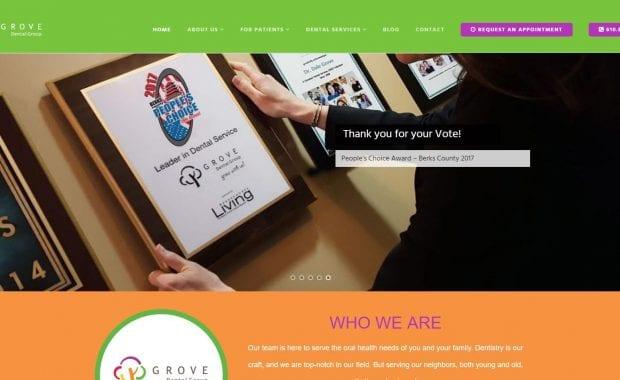 Web design company in Reading, Pa