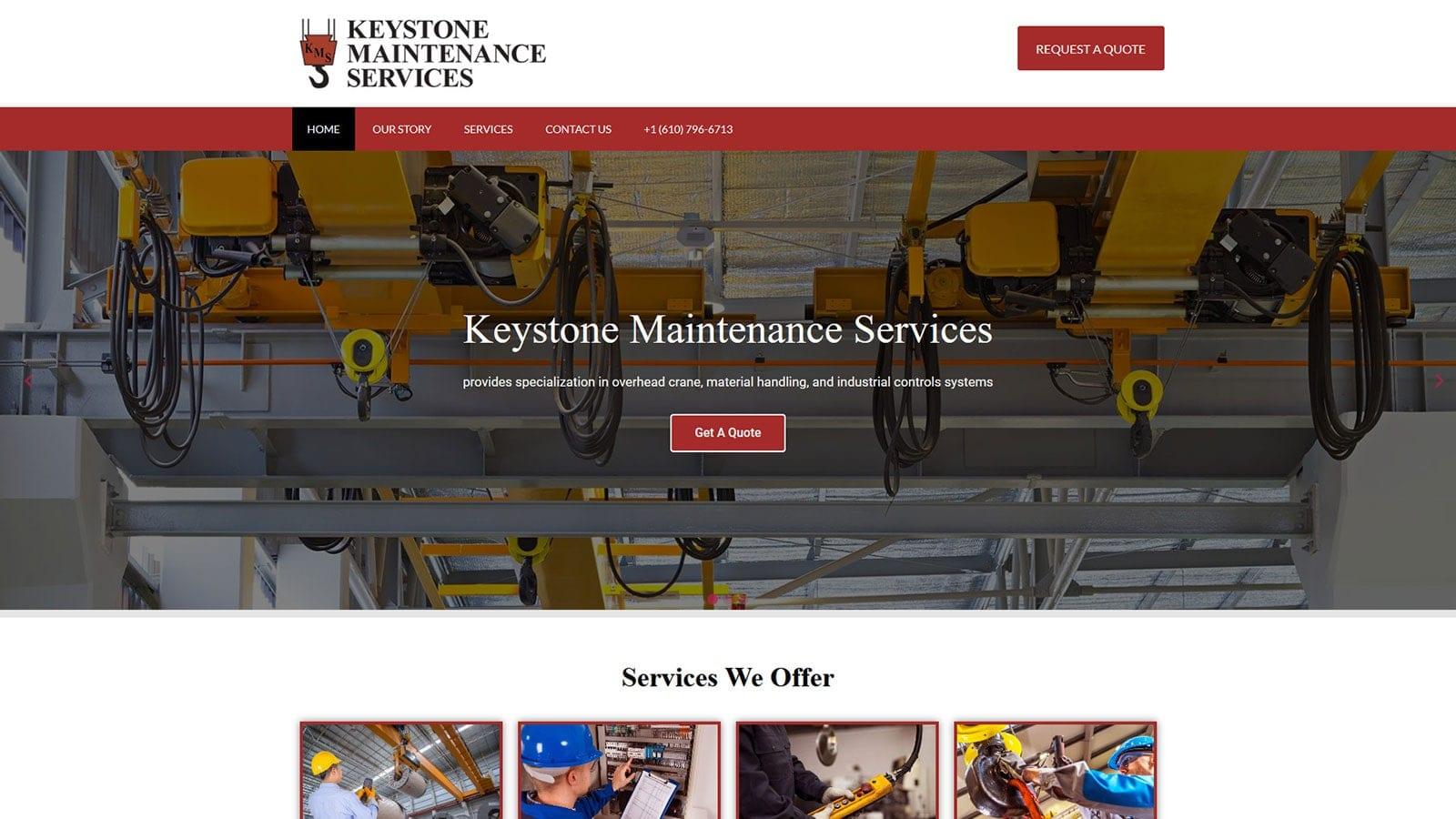 Keystone Maintenance Services Websites