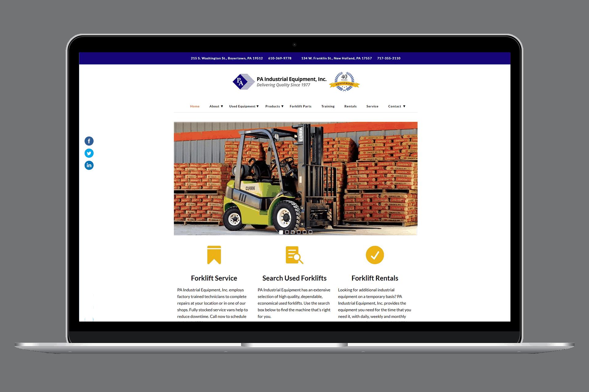 PA Industrial Equipment, Inc.